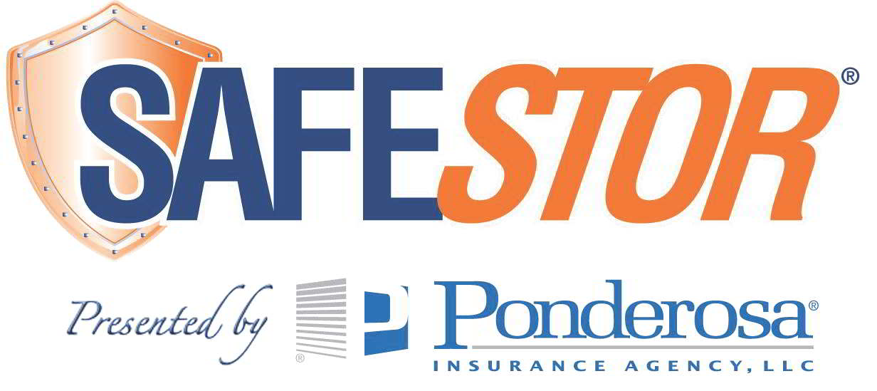 Ponderosa Insurance Agency/Safestor logo